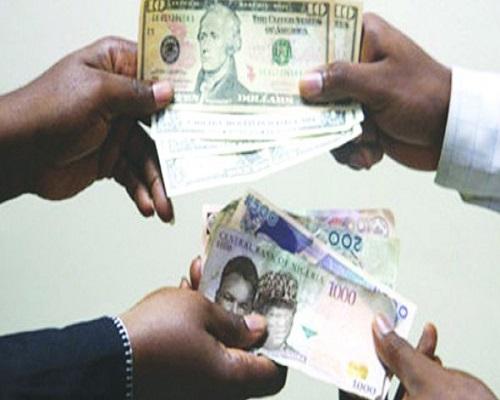 Naira - Dollar exchange