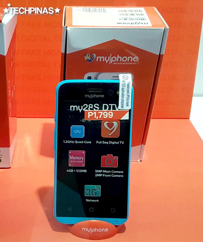 MyPhone My28s DTV