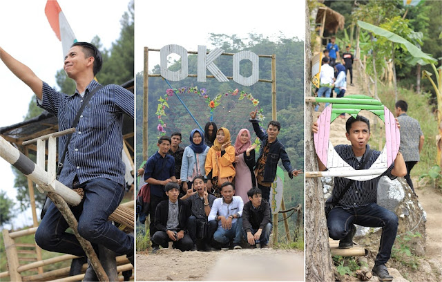 Leuweung Oko D'Great, Hutan Wisata Syariah yang Asyik Untuk Liburan Keluarga