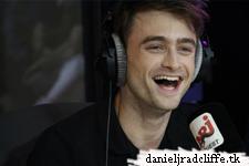 Daniel Radcliffe on NRJ Radio's C'Cauet