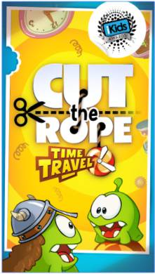 Game Puzzle Anak Android: Cut the Rope Time Travel Mod Apk