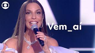 Show da Virada na Globo: Ivete Sangalo é uma das atrações da festa