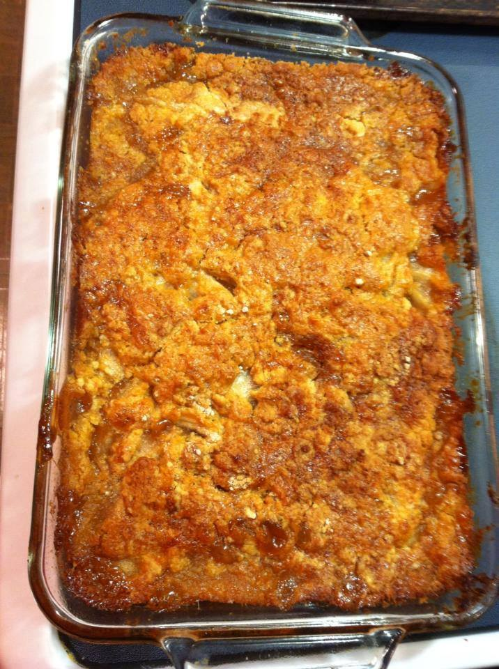 Apple Cobbler With Cake Mix And Cream Cheese