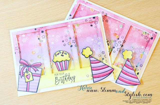 Birthday Cheer Stampin Up