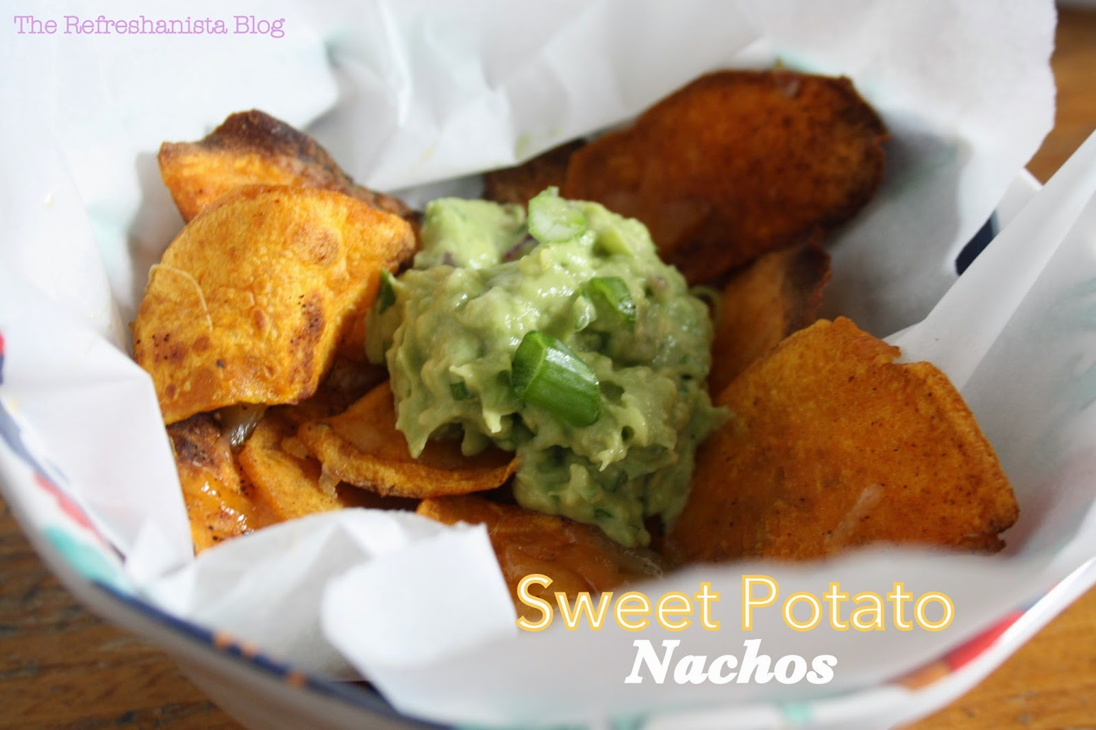 Sweet Potato Nachos | The Refreshanista Blog