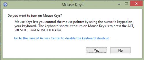 Cách điều khiển Chuột bằng Bàn phím 16