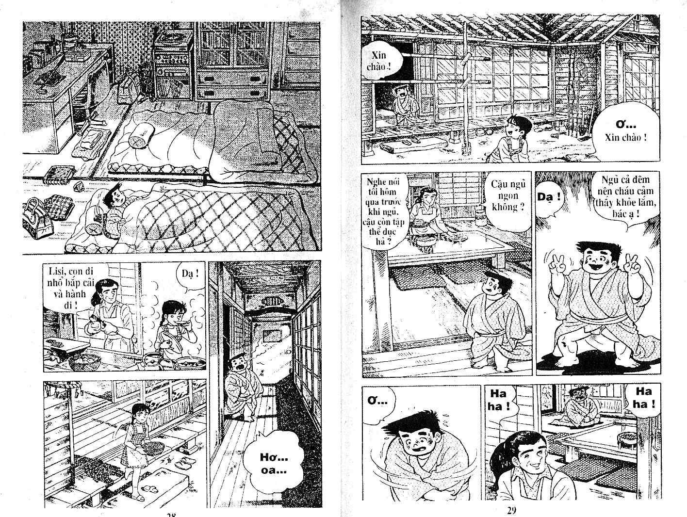 Ashita Tenki ni Naare chapter 21 trang 13