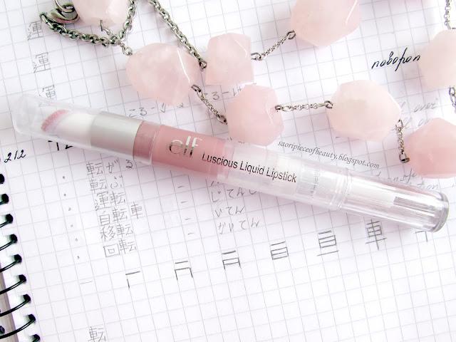 Помада-блеск Luscious Liquid Lipstick от E.L.F.