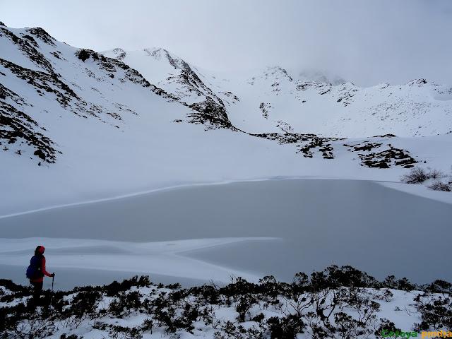 Vistas a la Laguna de Fasgueo inferior