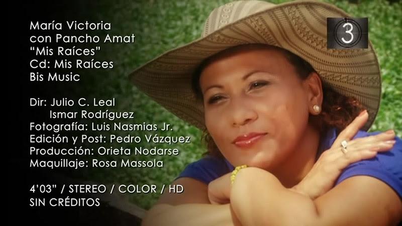 María Victoria Rodríguez Sosa y Pancho Amat - ¨Mis raíces¨ - Videoclip - Dirección: Julio César Leal. Portal Del Vídeo Clip Cubano - 10