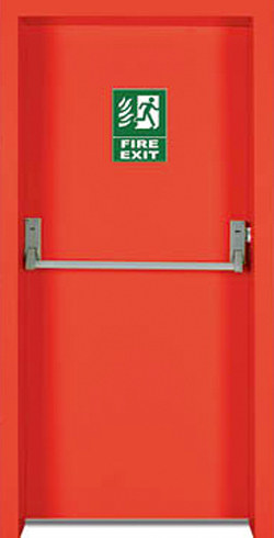 Pintu Darurat Kebakaran Gedung Exit Door