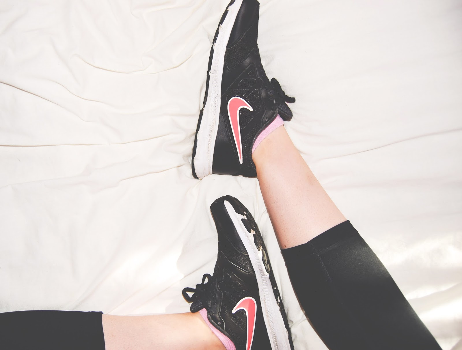 nike fitness flatlay motivation gym trainers