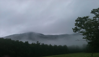Cades Cove during the rain Smoky Mountains