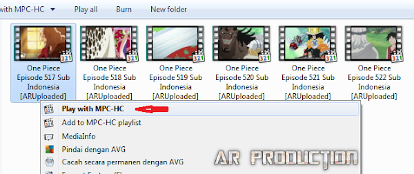 Cara Membuat Thumbnails (Cuplikan) Video Menggunakan Media Player Classic