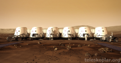 Mars'ta yaşam alanları