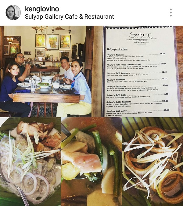 Lunch at Sulyap Cafe and Restaurant