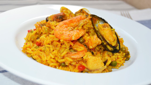 arroz con mariscos facil ingredientes
