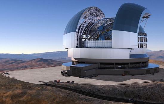 KeSimpulan Teleskop Optik Terbesar di Dunia Mulai Dibangun