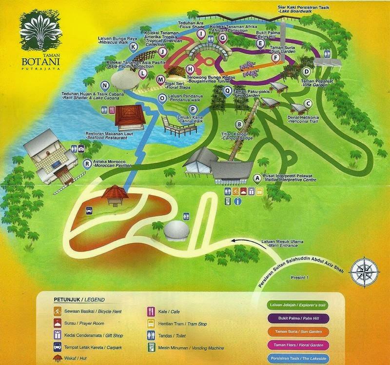 Image result for taman botani putrajaya