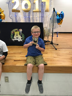Noah's First Grade Awards Ceremony