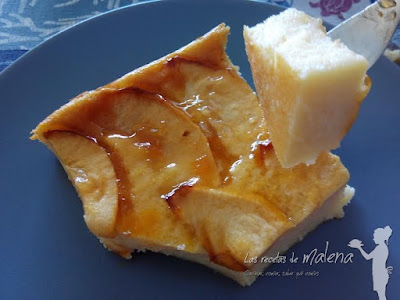 Tarta de manzana con yogur