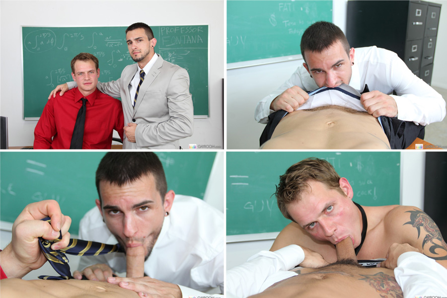 Sexo Gay Aluno fudendo com Professor