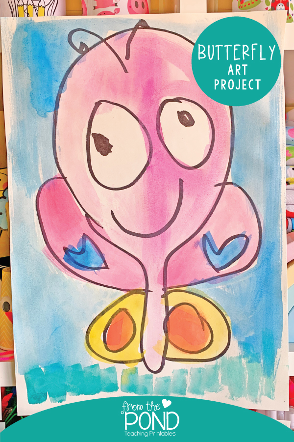 Spring Art Project For Kids
