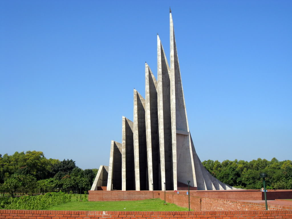 We love Our Bangladesh: National martyrs' memorial or