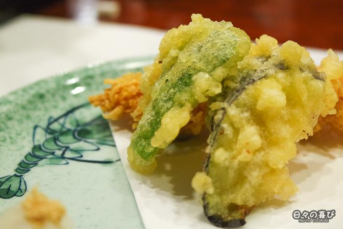 tenpura de legumes