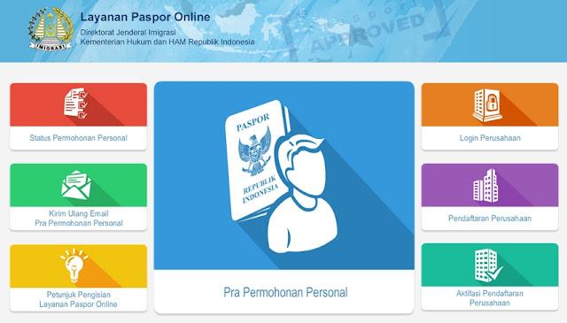 Cara Membuat Paspor Secara Online