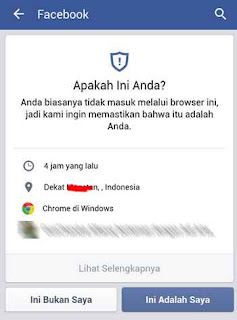 pengaturan keamanan fb