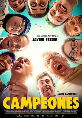 Campeones - Cartel película