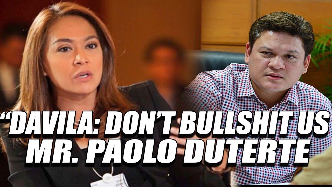 WATCH: Kagimbal-gimbal na Pagbatikos ni Karen Davila kay Paolo Duterte
