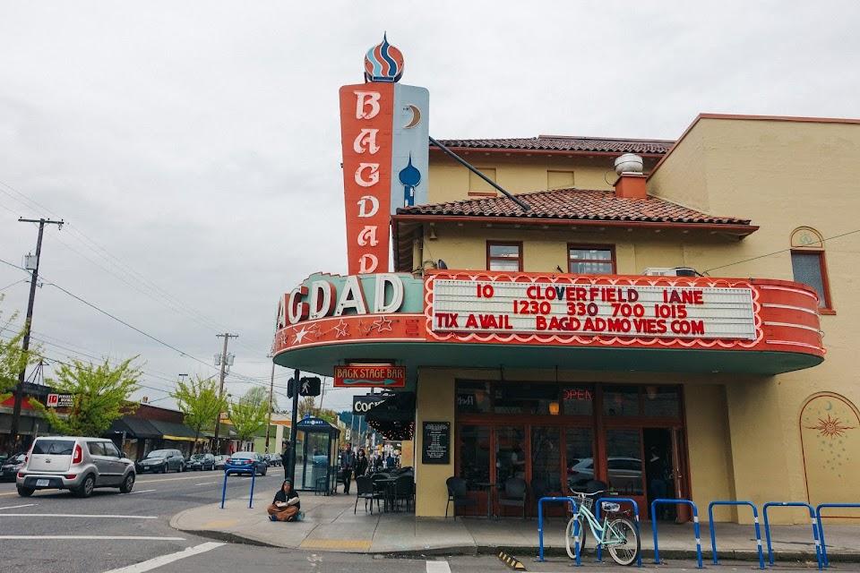 ザ・バグダッドシアター・アンド・パブ(Bagdad Theater and Pub)