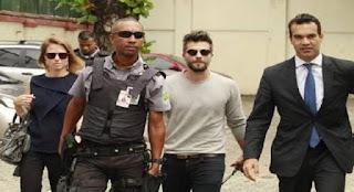 policia apreende meno que cometeu crime de rascimo contra filha de 3 anos do ator Bruno Gagliasso