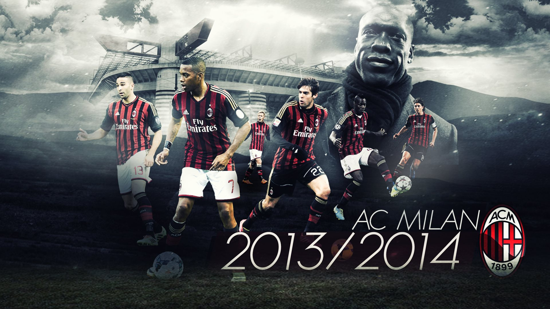 Hd wallpaper ac milan - Wallpaper Ac Milan 2014 High Definition Hd 1920x1080