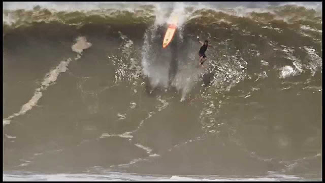 Ricardo Dos Santos at Puerto 3 - 2015 Wipeout of the Year Entry - XXL Big Wave Awards