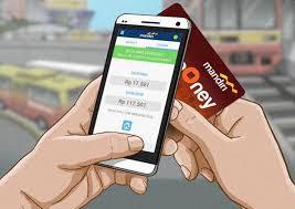 Cara daftar & top up Mandiri E-cash lewat smartphone