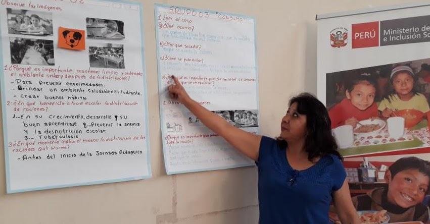QALI WARMA: Programa social capacita a madres en correcta combinación y dosificación de alimentos - www.qaliwarma.gob.pe