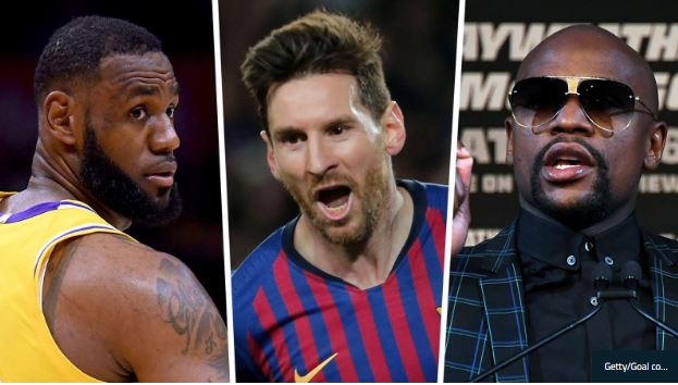 Who Are The Highest-Paid Sports Stars In The world?