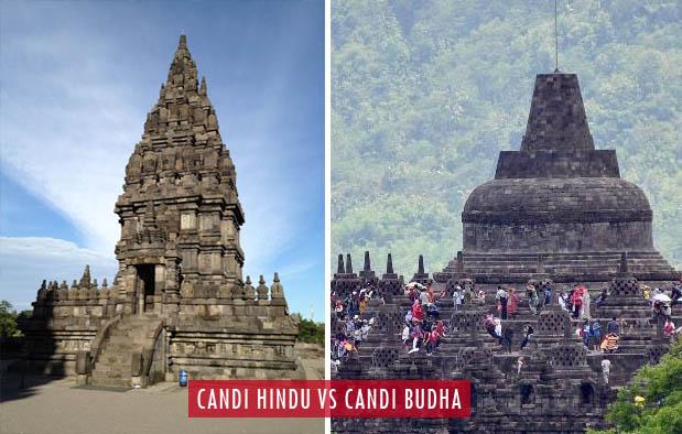 Perbedaan Candi Hindu dan Budha