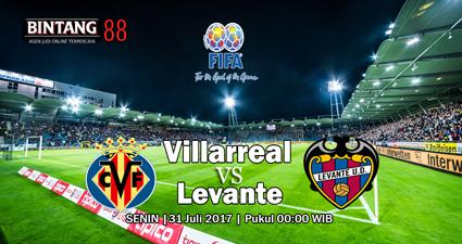 Prediksi Villarreal Vs Levante – Pada 31 Juli 2017