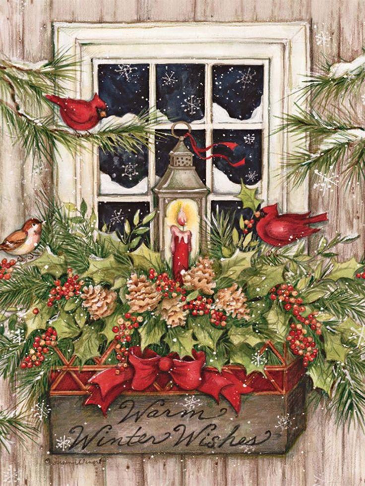 Immagini Di Natale Antiche.7 Cartoline Di Natale Per Giardinieri Un Giardino In Diretta