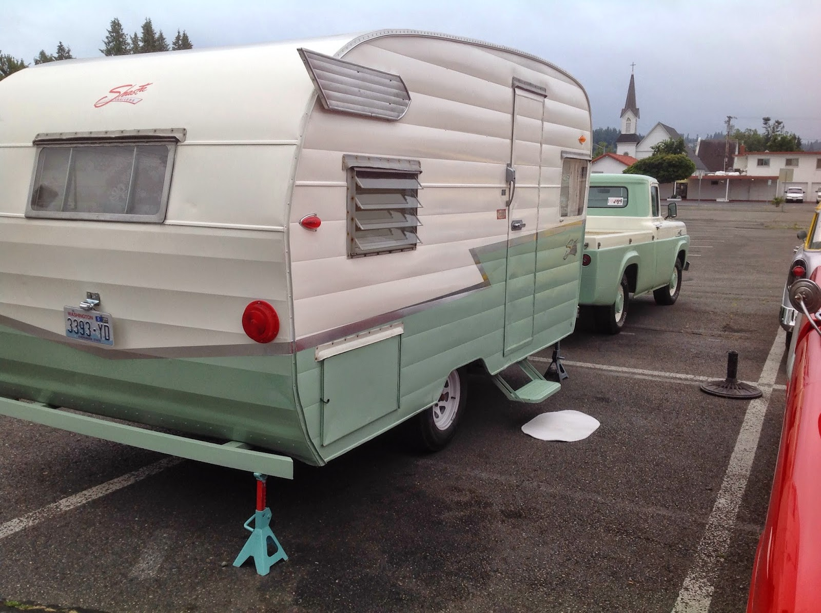 Amys VintageTrailers: FOR SALE 63 SHASTA WITH WINGS $6995