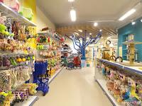 projeto arquitetura circulação mobiliário gondolas loja pet shop Ar Mar