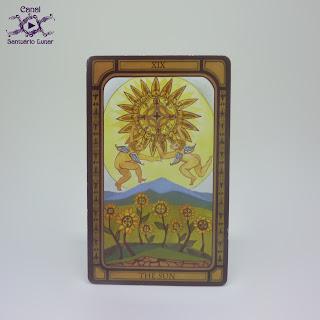 The Golden Tarot (CICO Books) - The Sun