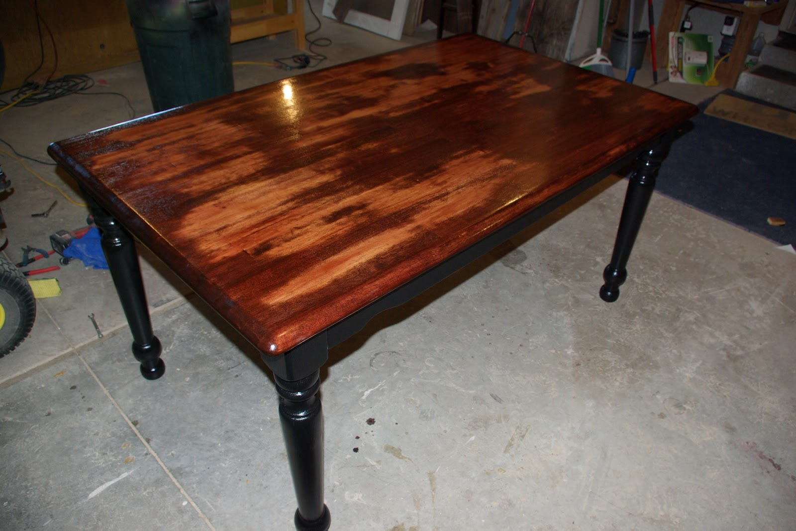 Reclaimed Rustics: Distressed Kitchen Table