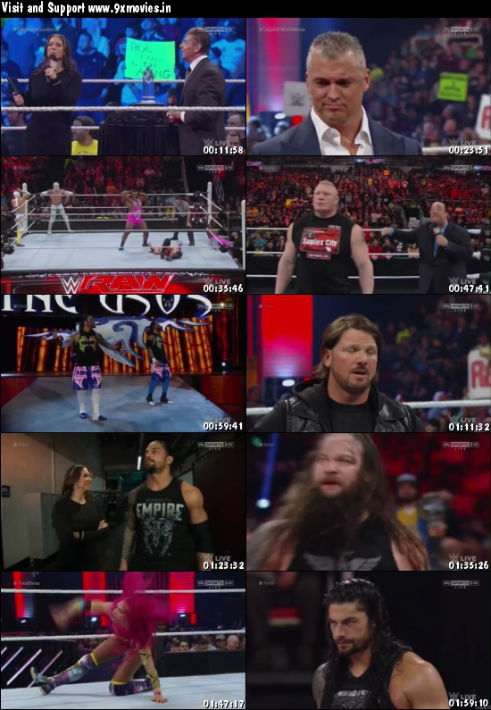 WWE Monday Night Raw 22 Feb 2016 HDTV 480p