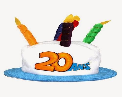 Dire joyeux anniversaire par ce texte anniversaire 20 ans