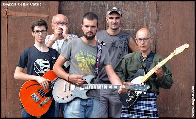 BogZH Celtic Cats ! groupe breton de Rock 'n' Roll Celtique, Punk-Folk